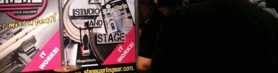 Stageworks Gear at the London Drum Show