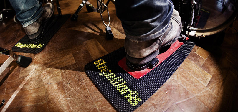 Non Slip Mats For Guitar Keyboard Drum Amp Effect Pedals